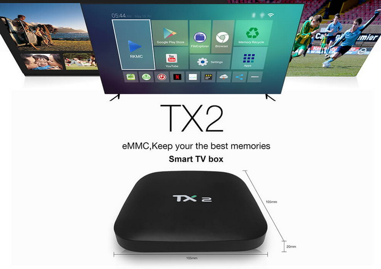 Tanix TX2-R2 Android TV box 2/16 Гб