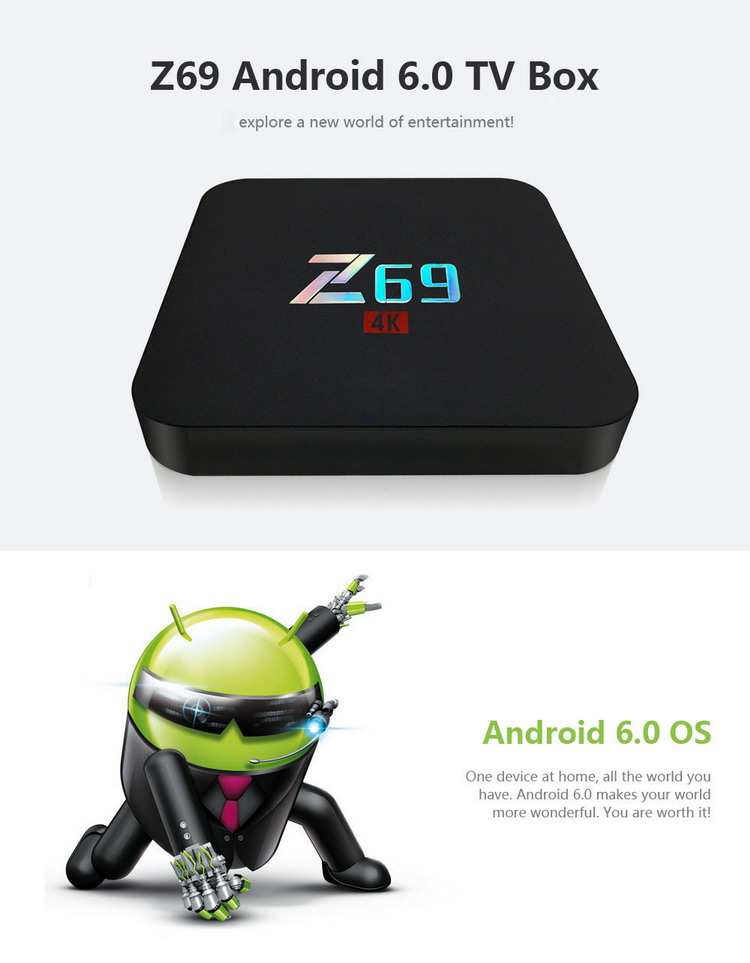 Z69 Android TV Box 2/16 Гб