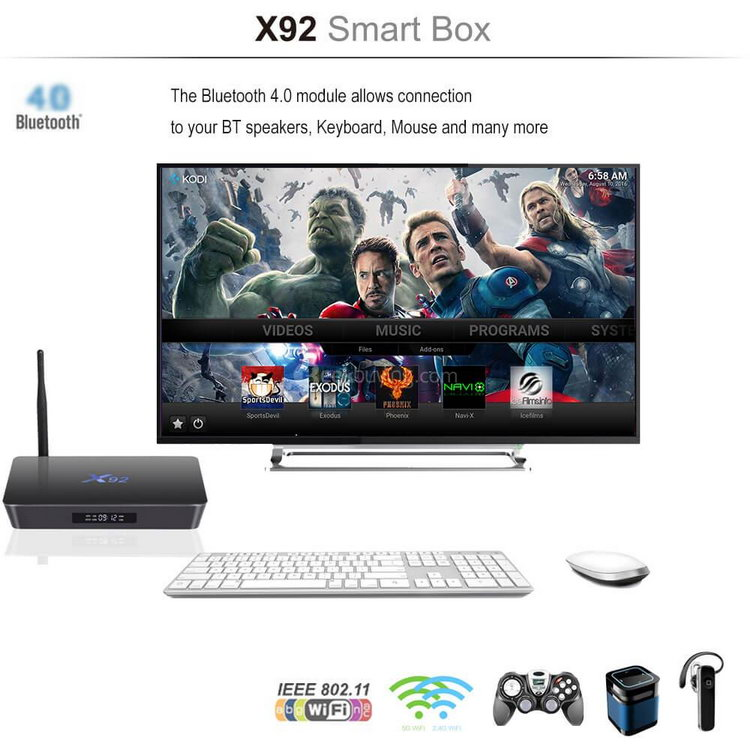 X92 Android TV Box 3 Гб / 32 Гб