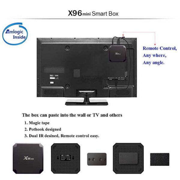 X96 Mini TV box 2/16 Гб